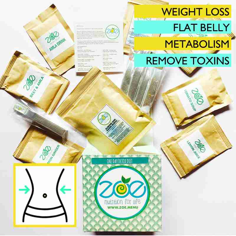 Zoe's One Month Detox - 4 Packs of One Day Detox