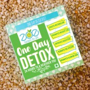 DAY DETOX - Lost 800g in a day