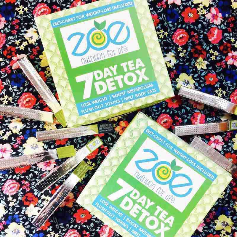 2 Packs of 7 Day Tea Detox - 28% off