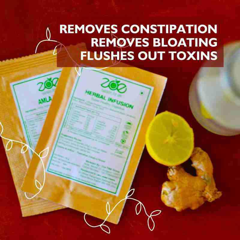 Herbal Infusion Drink for Constipation Relief & Colon Cleanse