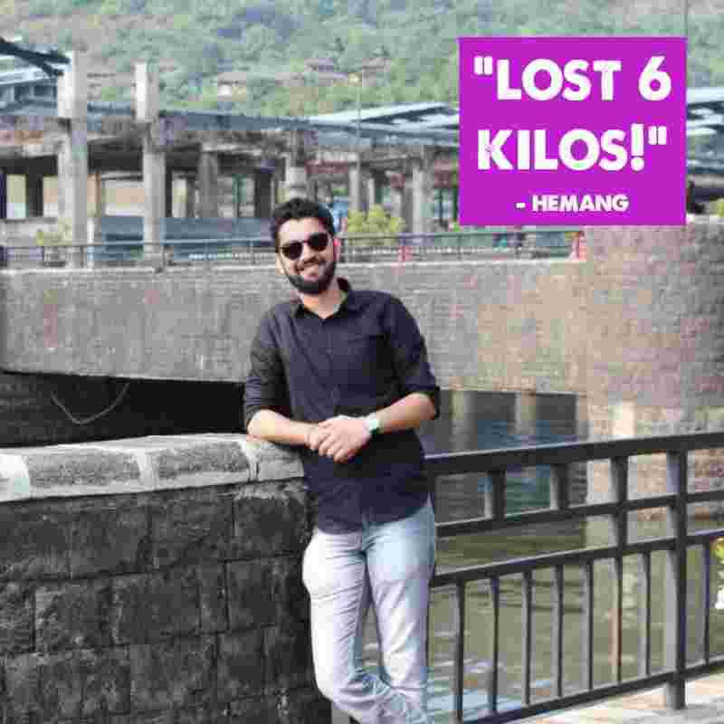 Lost 6 Kgs effortlessly with Zoe's One Month Detox - Hemang's review