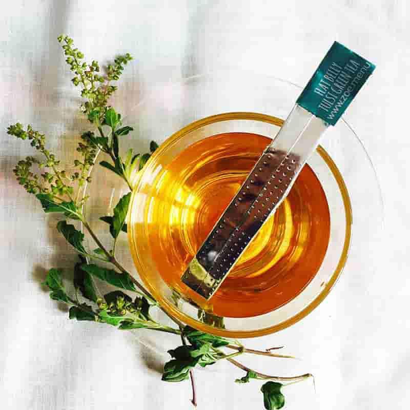 Organic Flat-Belly Tulsi Green Tea