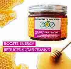 Wild Forest Immunity Booster Organic Honey