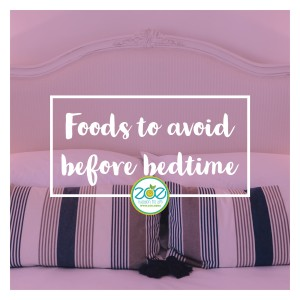 Foods to Avoid before Bedtime