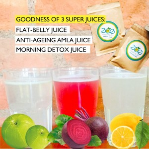 3-in-1 juice pack-improves digestion-weight loss-improves metabolism
