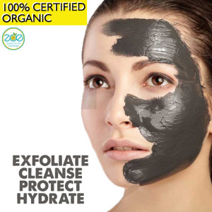 Charcoal-Face-Mask-Organic way to protect you from pollution and heat