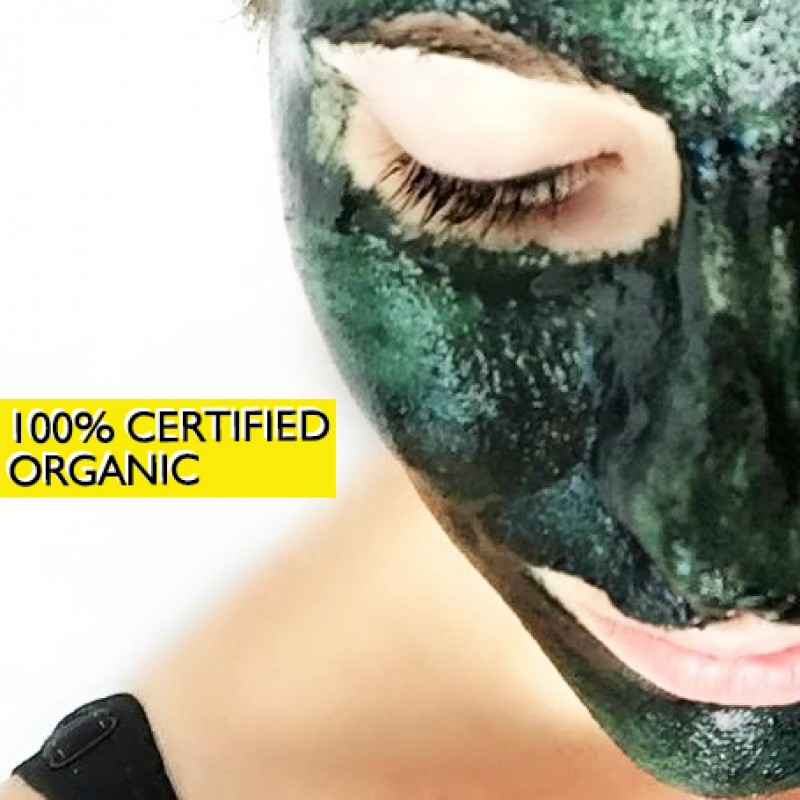 Spirulina Face-Pack - For Glowing And Beautiful Skin